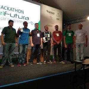 Aluno de Engenharia é premiado no Hackathon agropecuário