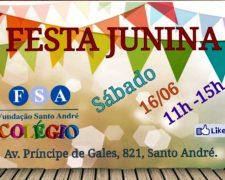 Colégio da Fundação realiza Festa Junina com DJs e músicas típicas