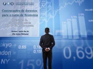 Contratação de professores para o curso de Economia
