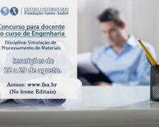 Fundação Santo André abre edital para docente de Engenharia