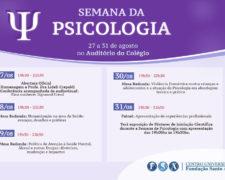 Semana de Psicologia 2018 da Fundação Santo André