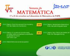 Semana da Matemática 2018