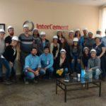 Os alunos do Curso de Engenharia Civil da Fundação Santo André participaram de uma visita técnica à empresa InterCement