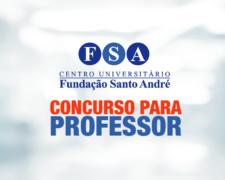 Fundação Santo André abre concurso público para contratação de professores de nível superior