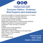 Fundação Santo André contrata docentes