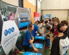 Fundação Santo André expõe em feira de profissões