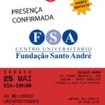 Fundação Santo André participa do 12º Fórum ABC – Exposição Teenager de Universidades e Profissões
