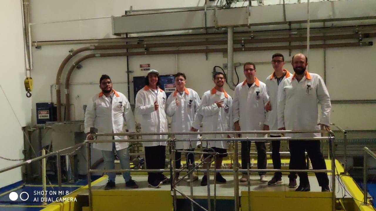 Visita técnica dos alunos de Engenharia ao IPEN