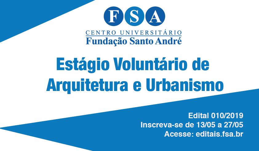 Fundação Santo André contrata estagiários de Arquitetura e Urbanismo