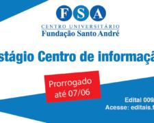 Fundação Santo André contrata estagiários para o Centro de Informação