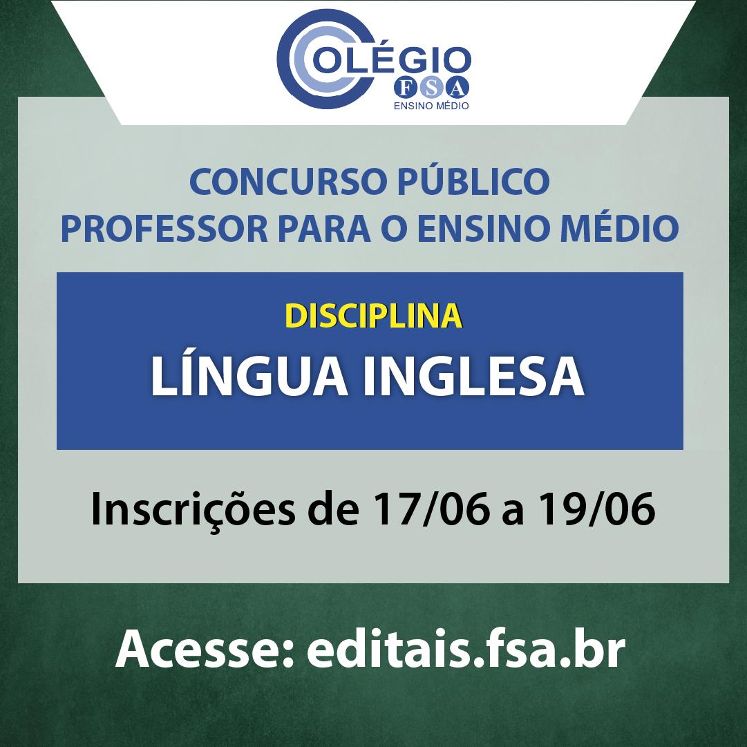 Fundação Santo André contrata docente de Língua Inglesa