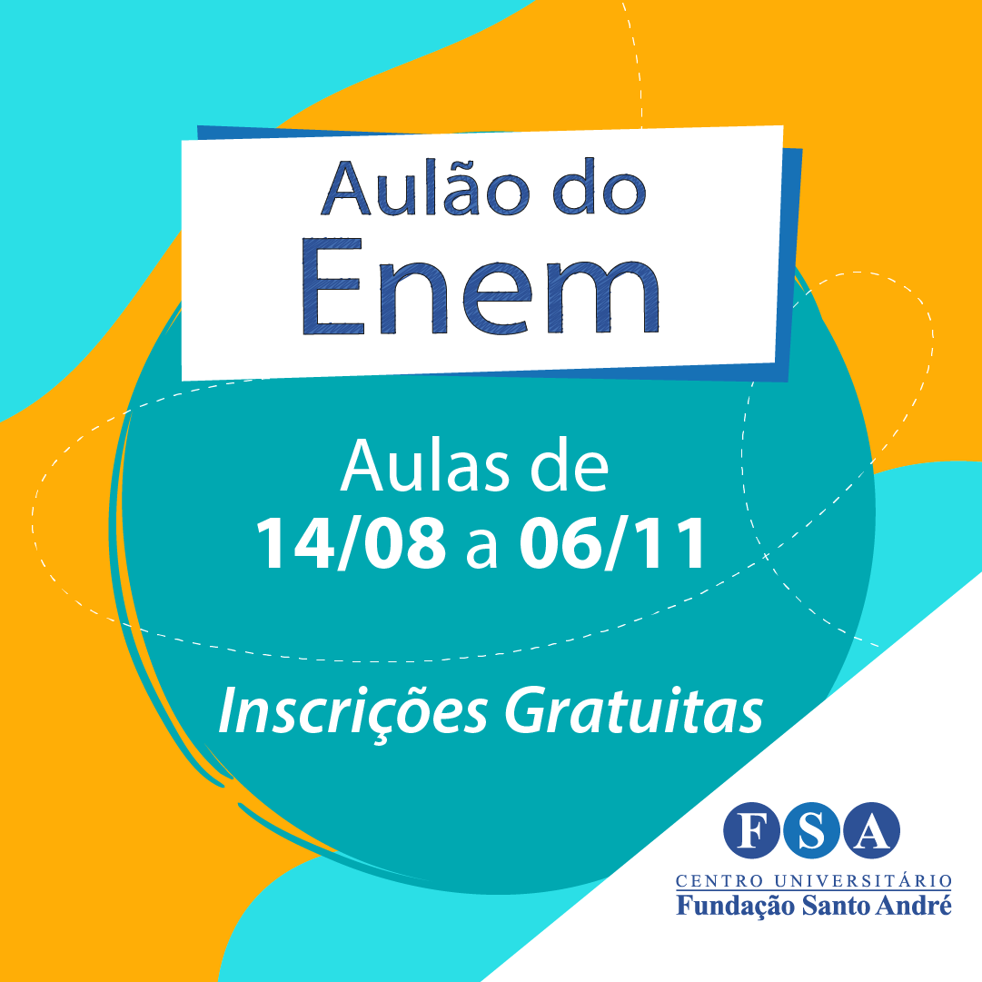 """Colégio da Fundação Santo André promove """"Aulão"""" do ENEM"""
