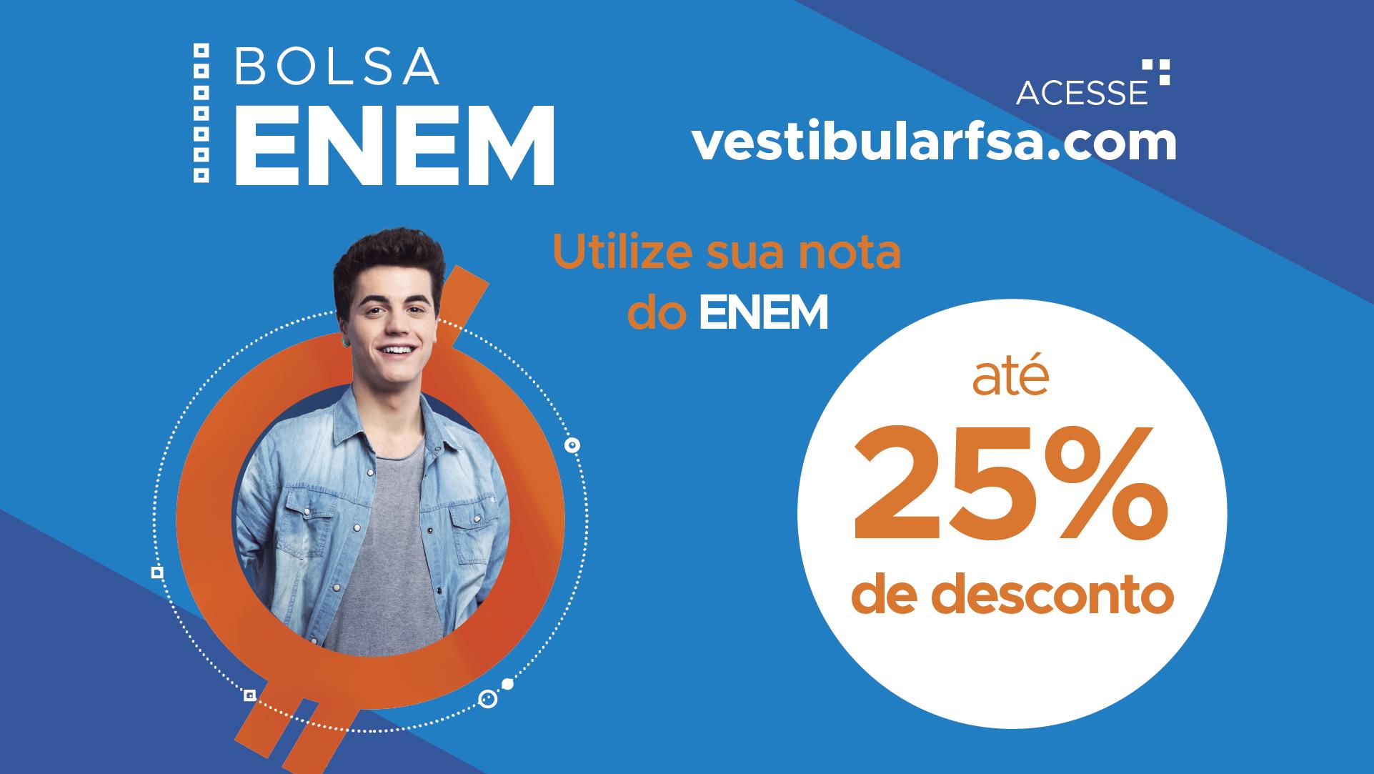 Programa de Descontos à alunos ingressantes pelo ENEM