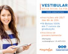 Processo Seletivo Bolsa Social Fundação Santo André – 2° Semestre 2019