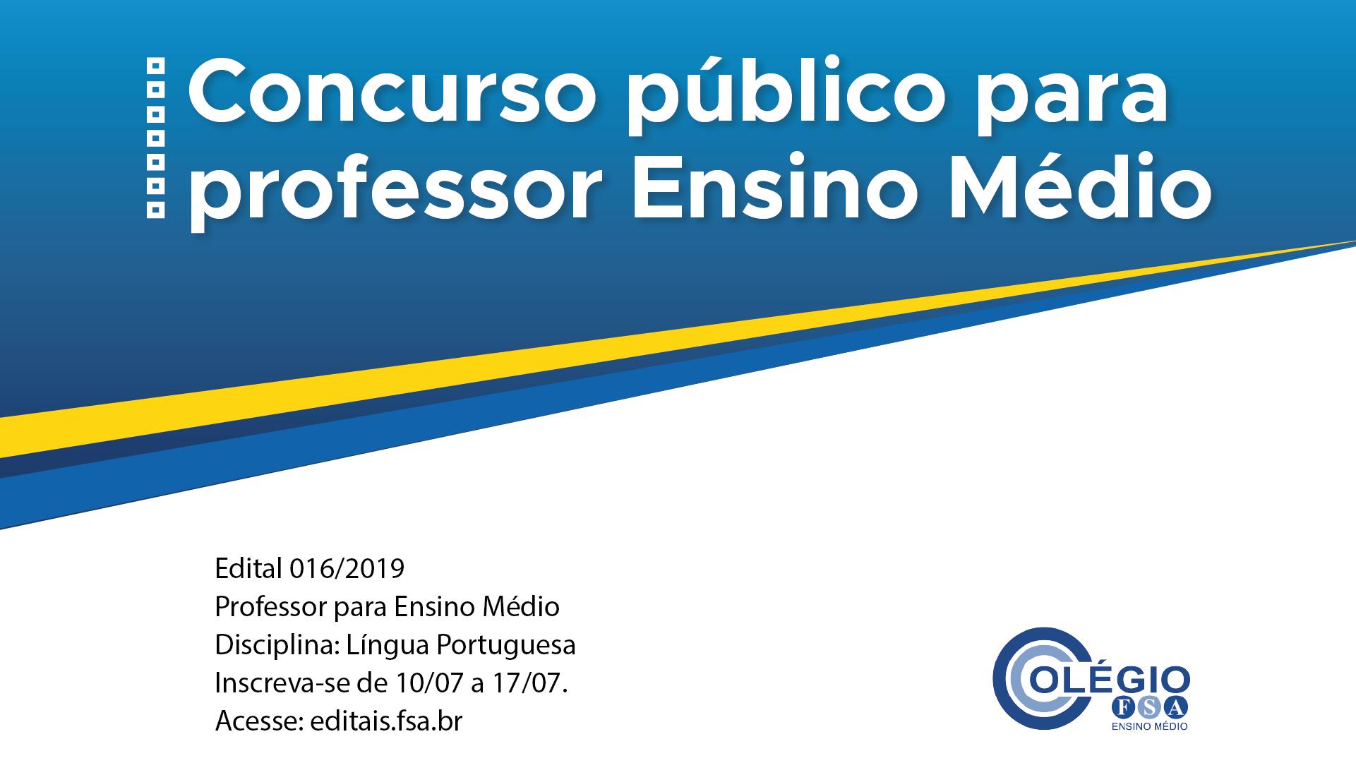 Fundação Santo André contrata docentes para o Ensino Médio