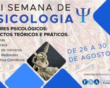 Centro Universitário Fundação Santo André realizará sua VIII Semana de Psicologia