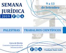 Centro Universitário Fundação Santo André realizará sua VIII Semana Jurídica