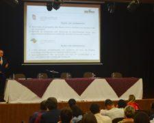 Secretário da Justiça ministra palestra no Centro Universitário Fundação Santo André