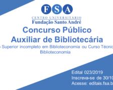 Fundação Santo André seleciona funcionários