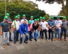 Alunos do curso de Pós-Graduação de Engenharia de Segurança Trabalho realizam visita na empresa Unipar Indupa S/A