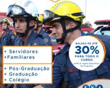 Fundação Santo André abre programa de Bolsa para Servidores e Familiares da Segurança Pública