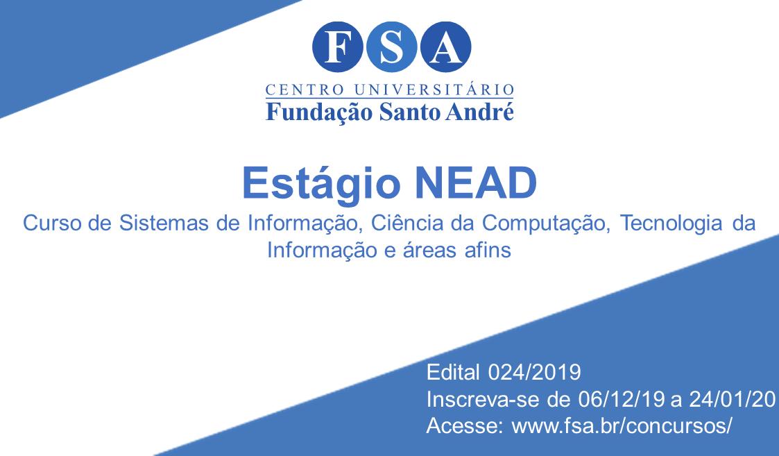 Arte – Edital 024.2019 Estágio NEAD