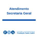 Atendimento Secretaria Geral – SGA