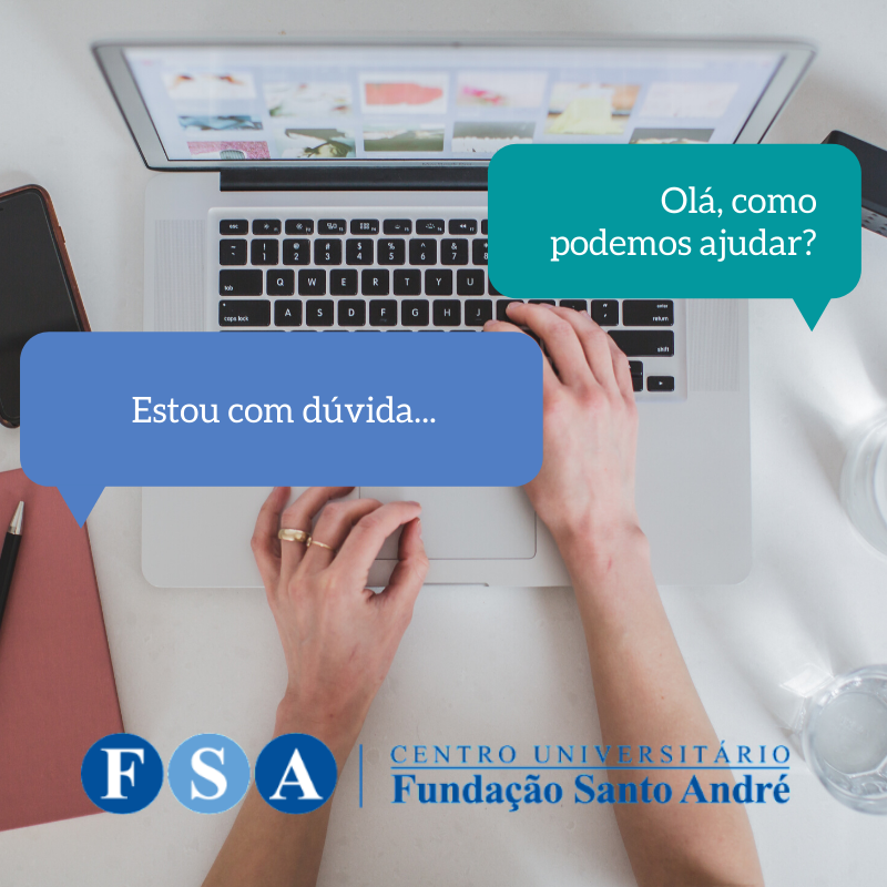 Atendimento via chat on-line