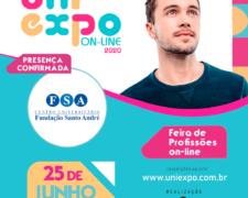 Fundação Santo André participará da Uniexpo On-line – ABC e Baixada Santista