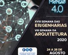 Centro Universitário Fundação Santo André realizará sua XVIII Semana de Engenharias e VIII Semana da Arquitetura e Urbanismo – online