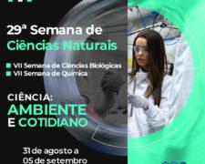 Centro Universitário Fundação Santo André realizará sua VII Semana de Ciências Biológicas e VII Semana de Química – online