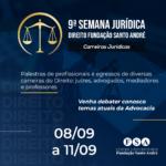 Centro Universitário Fundação Santo André realizará sua 9ª Semana Jurídica – online