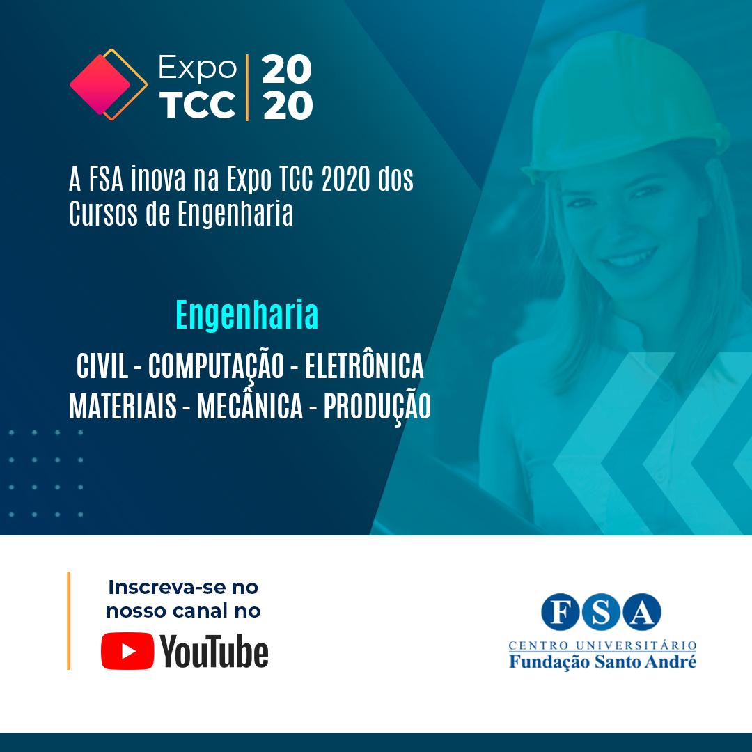 FSA inova na Expo TCC 2020 dos Cursos de Engenharia
