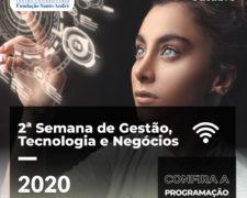 II SEMANA DE CURSOS – GESTÃO TECNOLOGIA E NEGÓCIOS
