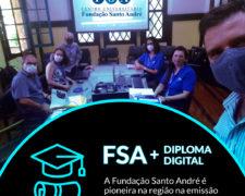 Fundação Santo André é pioneira na emissão de Diploma Digital na região