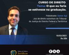 Fundação Santo André recebe o Juiz Samer Agi para aula Magna do Curso de Direito