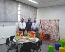 Fundação Santo André inaugura Brinquedoteca vinculada ao seu curso de Pedagogia