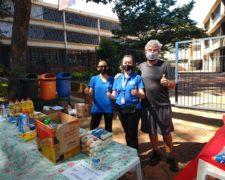 Alunos da Fundação Santo André realizam campanha de Doação de Alimentos