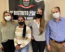 Núcleo de Praticas Jurídicas da FSA realiza visita ao 4° Distrito Policial de Santo André