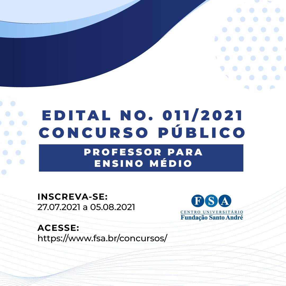 Fundação Santo André contrata Professores – Nível Ensino Médio
