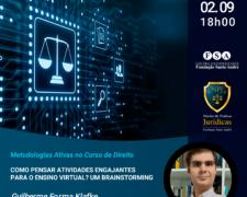FSA promove Oficina de Práticas Jurídicas – Metodologias Ativas no Curso de Direito aos docentes