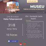 FSA promove visita monitorada ao Museu da Justiça